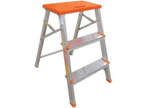 Banco Escada de Alumínio 3 Degraus com as melhores condições você encontra no site do Magazine Luiza. Confira!