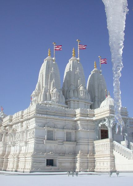 BAPS Shri Swaminarayan Hindu Mandir, Bartlett , IL, Chicago, USA.