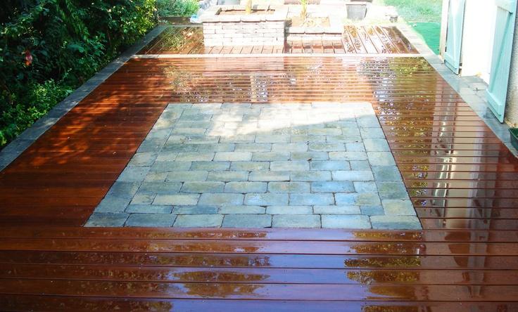 25 best mes terrasses images on pinterest decks art - Protege soleil terrasse ...
