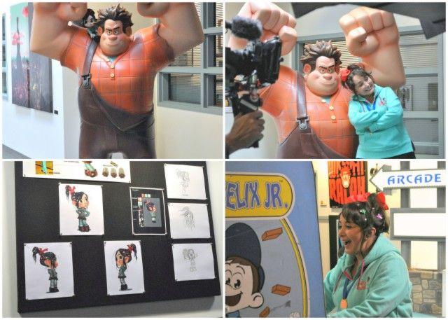 Entrevista a Maria Antonieta De la Nieves y su participación en la película Wreck it Ralph