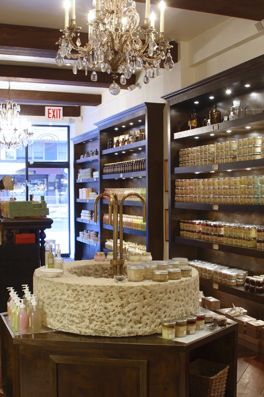 "Adore this beautiful store with luxurious products made in Israel. Sabon: 56th Street New York. Sabon means ""soap"" in Hebrew."