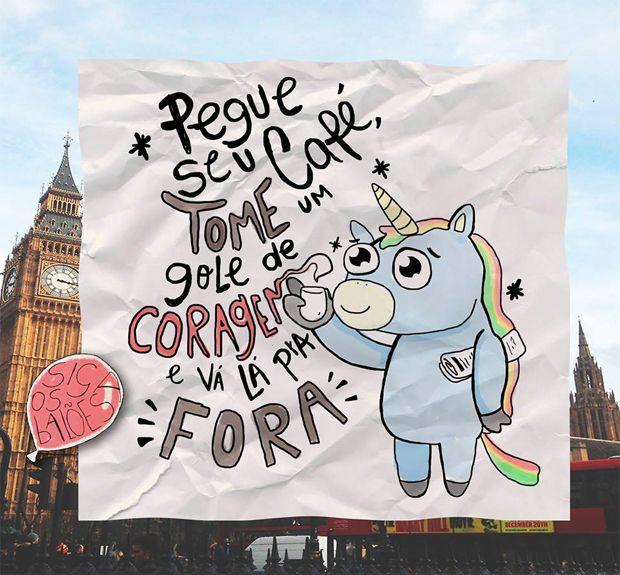 Mensagens positivas por Siga os balões!