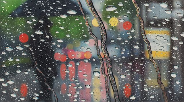 Mesmerizing Drawings Feature Rainy Day Distortions - My Modern Metropolis