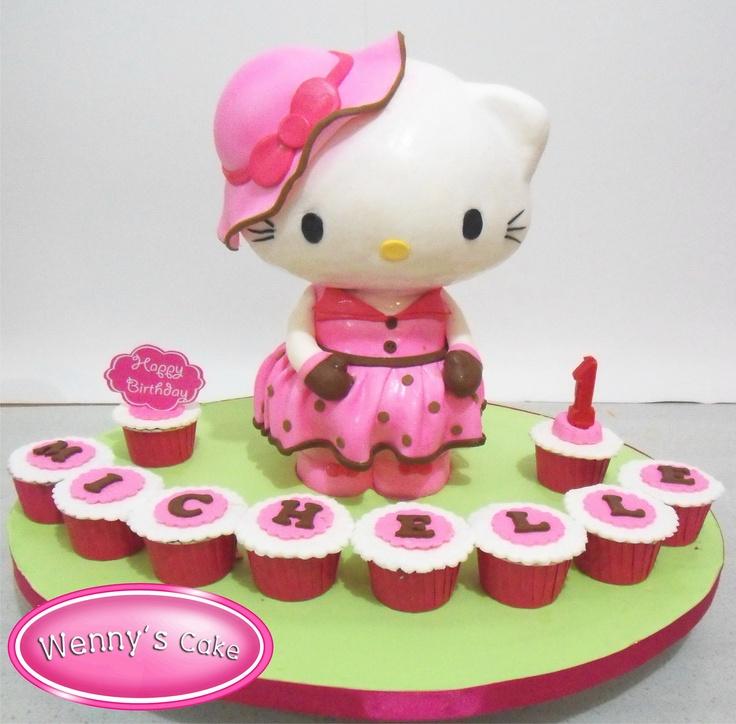 3d torte hello kitty