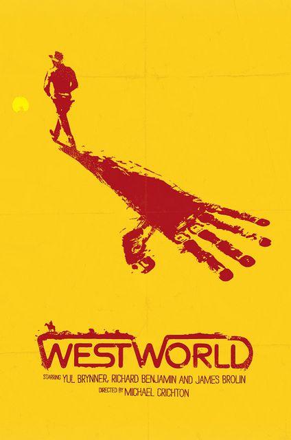 Minimalist Movie Poster: West World