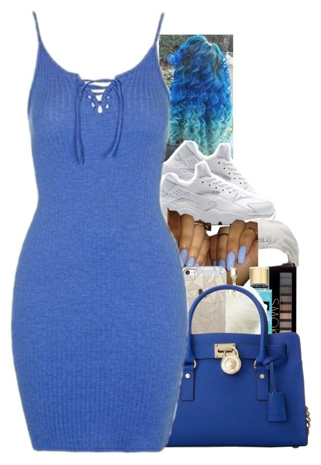 """""""July 9, 2016"""" by uniquee-beauty ❤ liked on Polyvore featuring NIKE, Polo Ralph Lauren, Forever 21, Charlotte Russe, Casetify, MICHAEL Michael Kors and Topshop"""