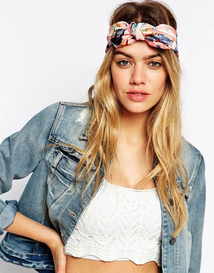 ASOS+Feather+Print+Headscarf