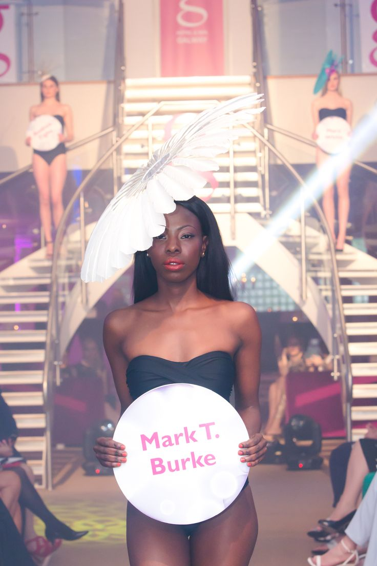 Mark T Burke - one our fabulous Galway milliners at Glamour at the g - June 2014. www.theghotel.ie