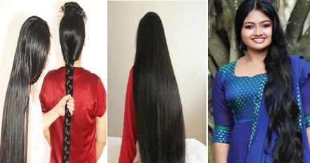 This indian secret will grow 8 inches of hair in one month. The results are just amazing.