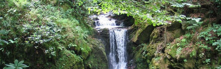 Geroldsauer waterfall in Germany