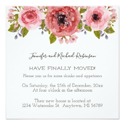 watercolor flowers party invitation in 2018 floral pinterest