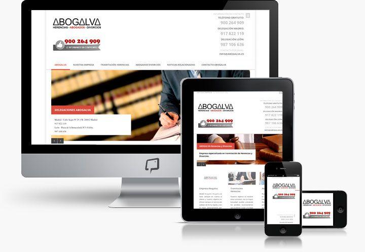 http://www.basicum.es/portfolio-item/diseno-web-abogados-abogalva/ Diseño web Responsive para página de abogados creado por Basicum.es