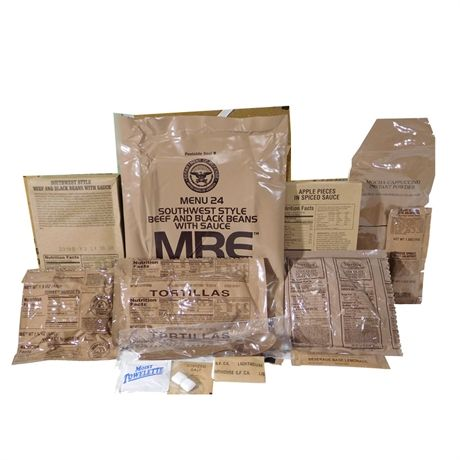 MRE Meals ready to eat
