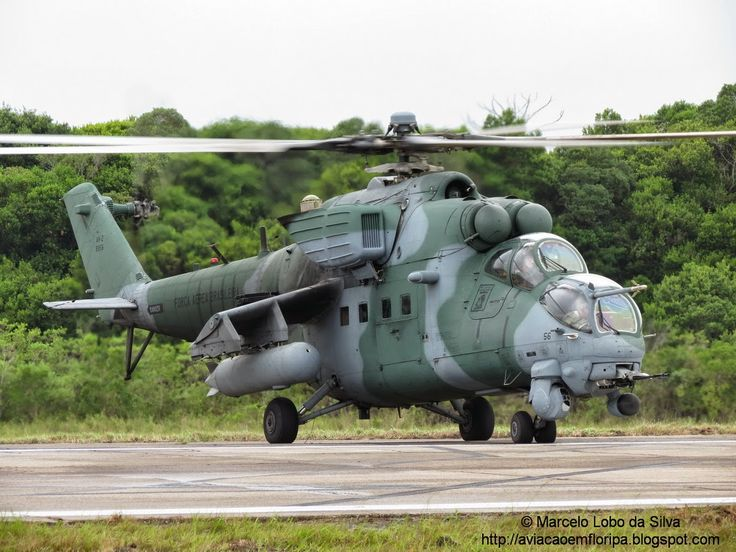 Brazilian Air Force Mi-35M Hind
