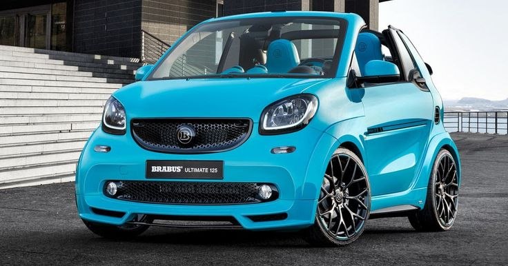 We Kid You Not; New Smart Brabus Ultimate 125 Costs As Much As A Porsche 718! #Brabus #Geneva_Motor_Show