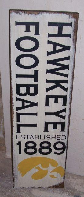 Hawkeye Football Sign  http://www.inspired4you.citymax.com/iowa_hawkeye_wooden_signs.html