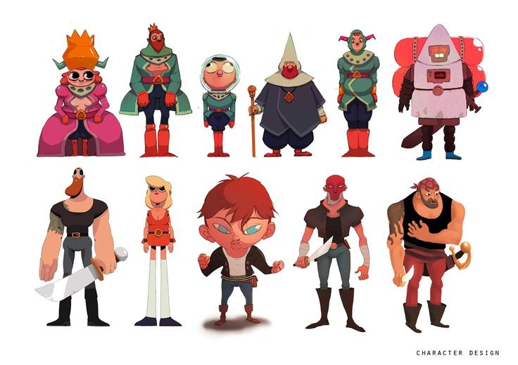 Character Design Quarterly 4 : David maingault portfolio character design pinterest