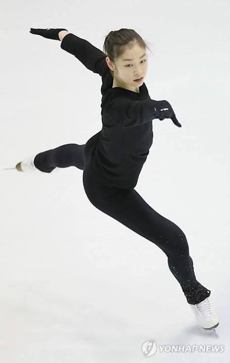 Kim Yuna - 김연아 Practice