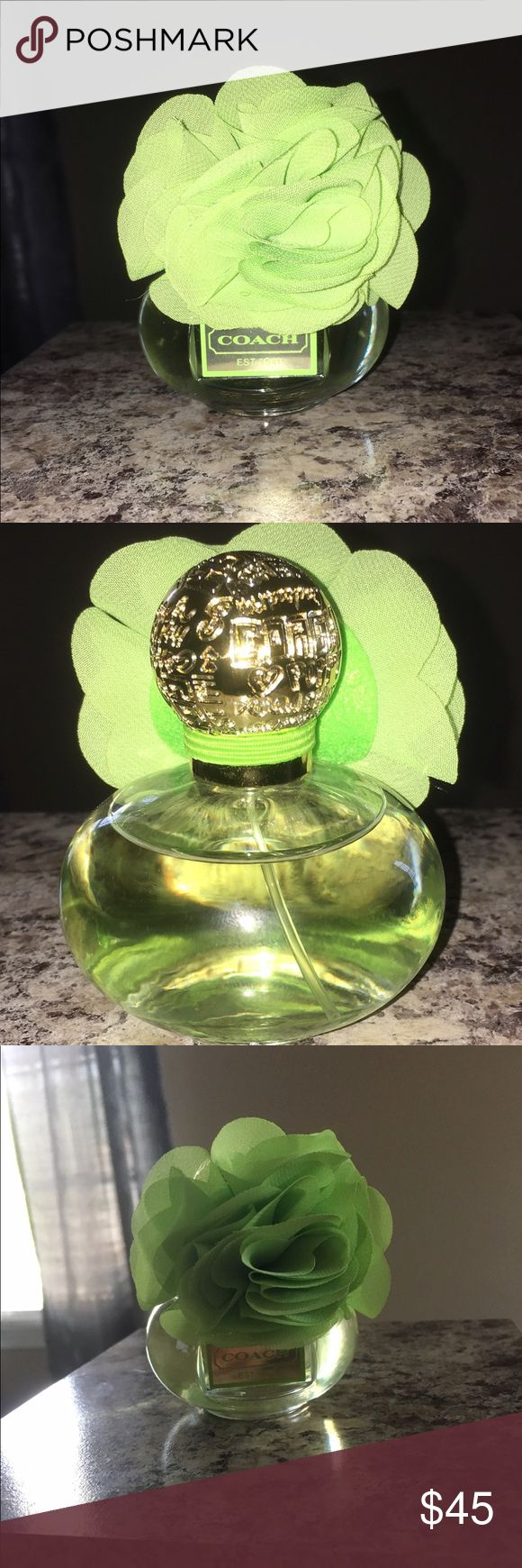 COACH Poppy Citrine Blossom perfume. Beautiful scent, only sprayed 2xs you will love it!! Coach Other