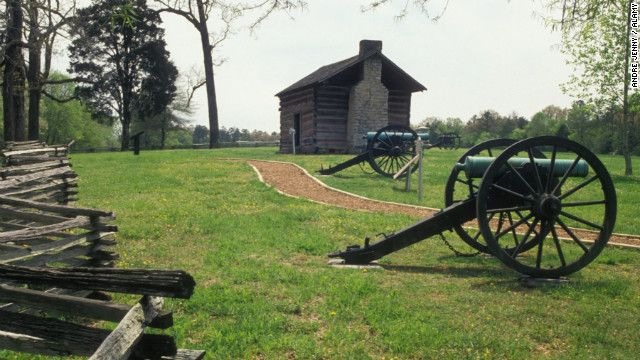 "Chickamauga & Andersonville, #Georgia Civil War sites, were both included on CNN.com's list of ""12 fascinating Civil War sites."" #GaCivilWar"