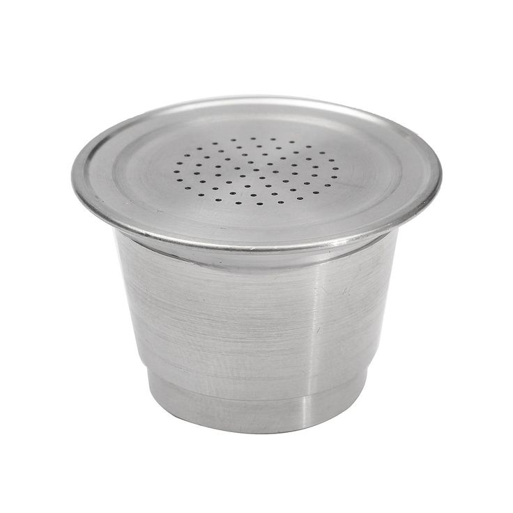 Reusable Stainless Steel Refillable Coffee Capsule Pod Cup for Nespresso Machine