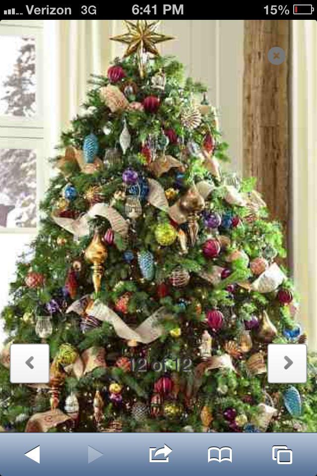 Pottery Barn Christmas For The Home Pinterest