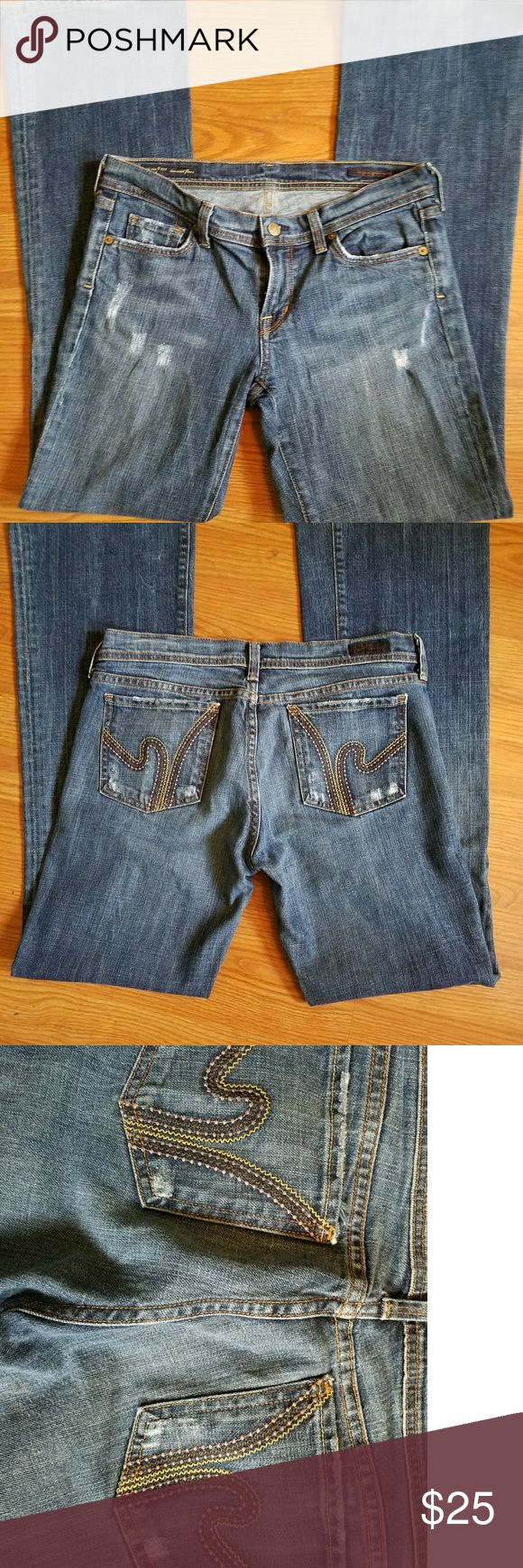 Citizens of humanity women's jeans size 29 Low waist flare ric rac #109 29 waist 32 inseam Citizens Of Humanity Jeans Flare & Wide Leg