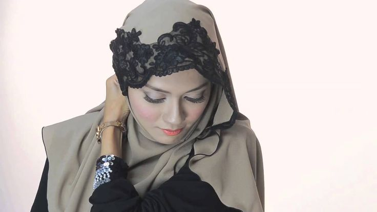 Shawlbyvsnow : Hijab Tutorial with VS Bonita l Classic Pattern