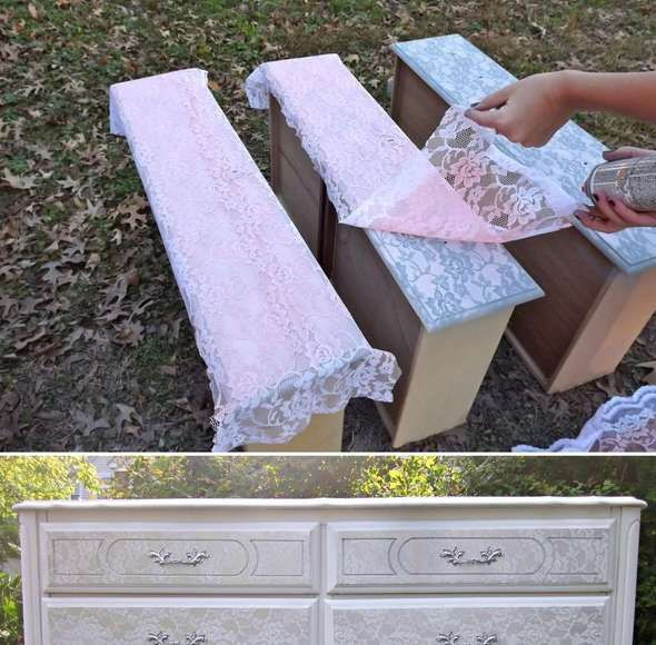 Image via: uniquely chic mosaics If you have an unsightly old dresser and you are thinking to get rid of it then change your plan.