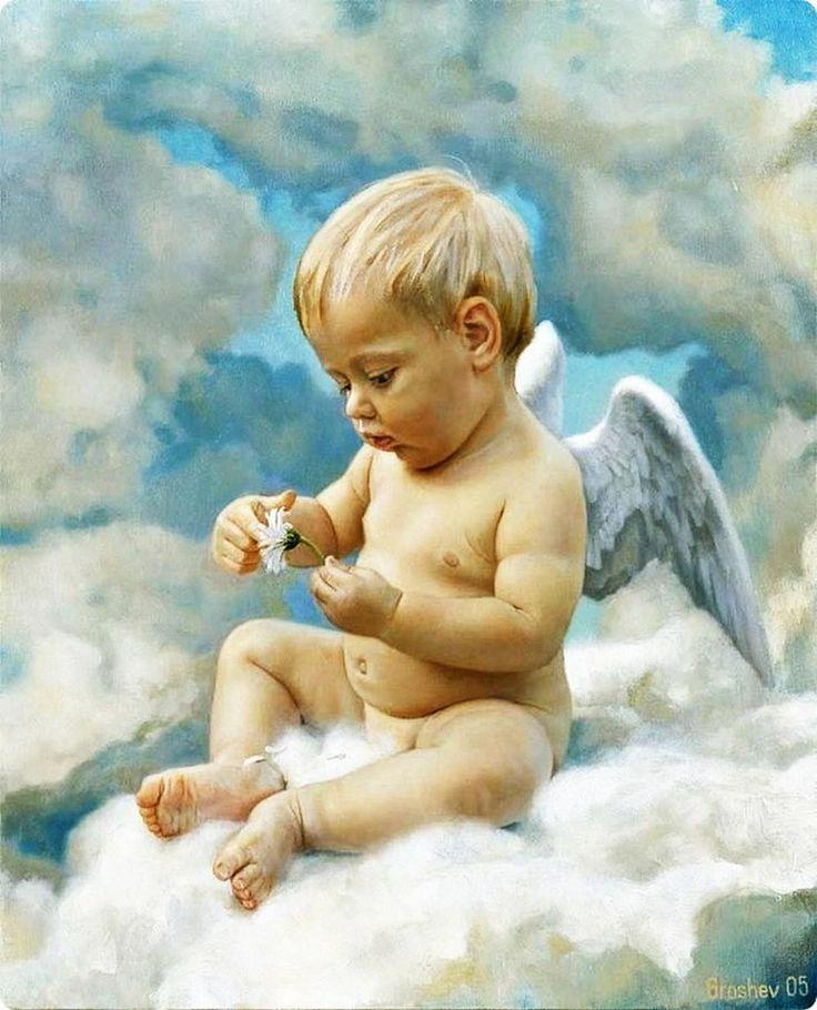 Nude littel angel — photo 2