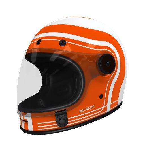 Custom Bell Bullitt Motorcycle Helmet 2