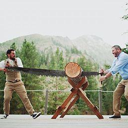 The happiest gay lumberjack wedding ever   Offbeat Bride