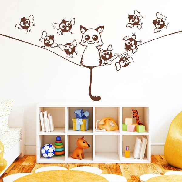 Die besten 25+ Wandtattoo katze Ideen auf Pinterest Wall tattoos - wandtattoo für badezimmer