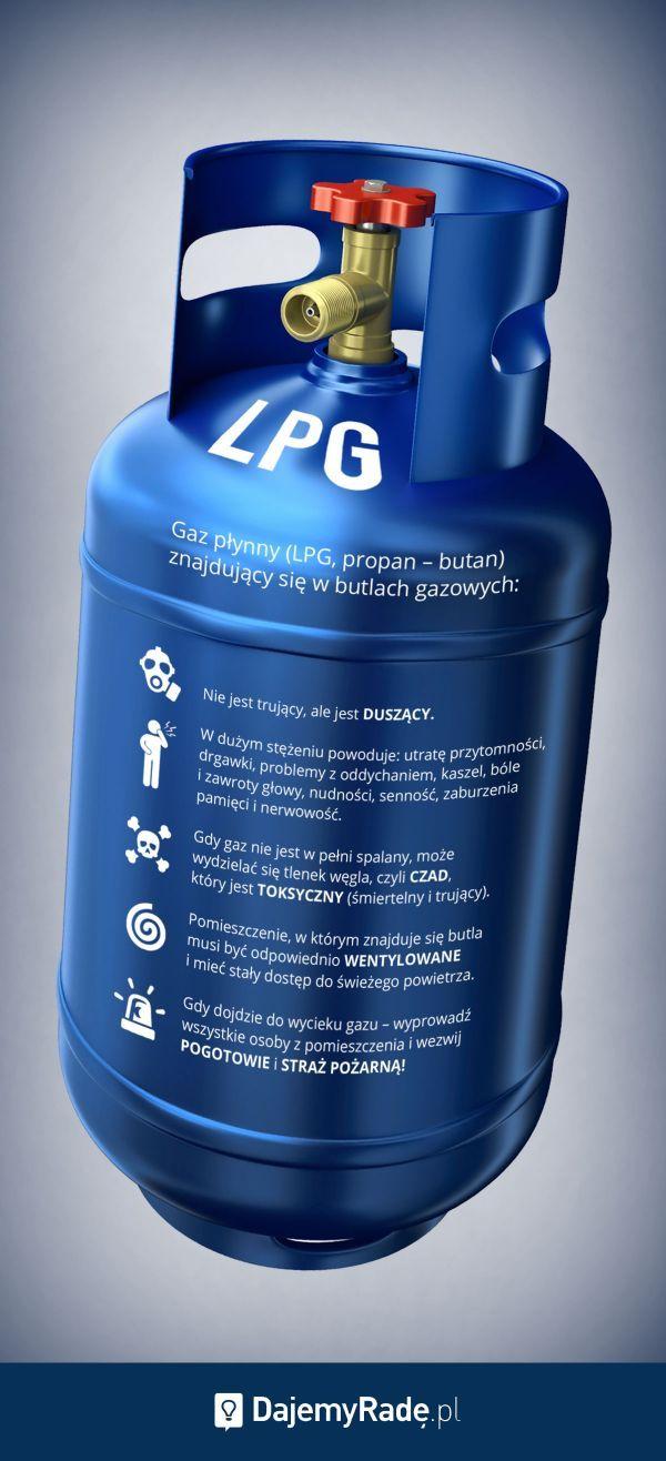 Używanie butli gazowych wymaga szczególnej ostrożności. #dajemyrade, jak korzystać z nich bezpiecznie.