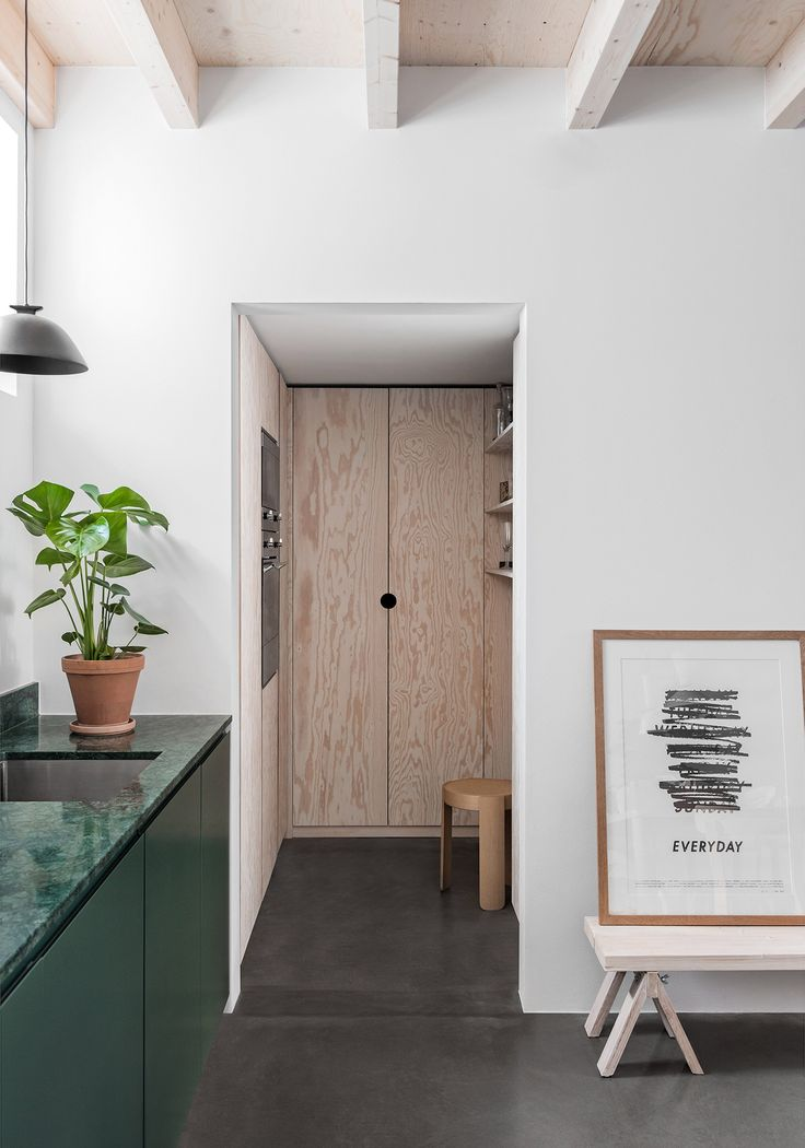 Swedish architects Förstberg Ling has converted a former blacksmith's workshop in Stockholm, Sweden, for Hem co-founder Petrus Palmér and his family.