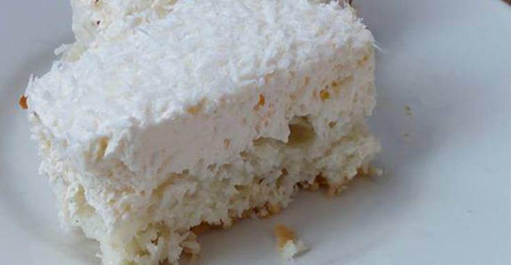 PRAJITURA CU COCOS SI VANILIE | Retete Culinare