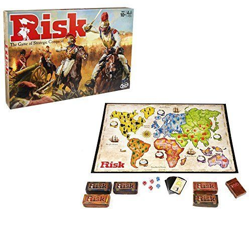 Risk Board Game The Classic Strategy Conquest Family Game By Hasbro Vintage New #Hasbro