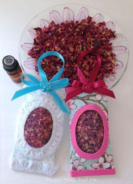 zelfgemaakte rozenbladeren zakjes met papieren handdoek buis, ambachten, bloemen, hoe, herbestemming upcycling