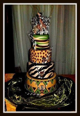 african themed wedding cake images 1000 id 233 es sur le th 232 me wedding cakes sur 10603
