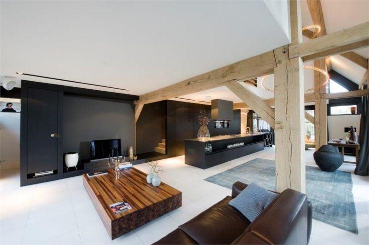 Open plan Kitchen Living | Generaal Urquhartlaan 43, Private Villa in Oosterbeek, NL