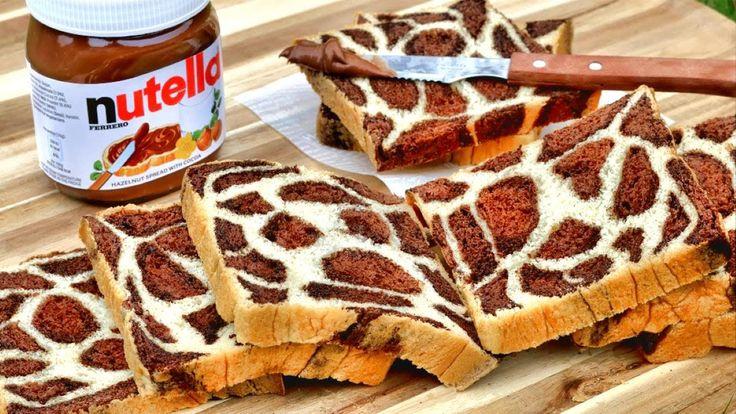 How To Make Leopard Print Bread | Chocolate Milk Bread | 手搓豹紋麵包 豹纹土司 | M...