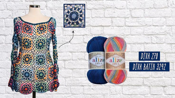 Tığ işi yazlık trend bluz - Trendy summer blouse with crochet