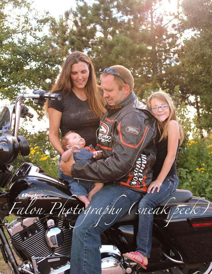 Motorcycle Harley Family Falon Photography My Work