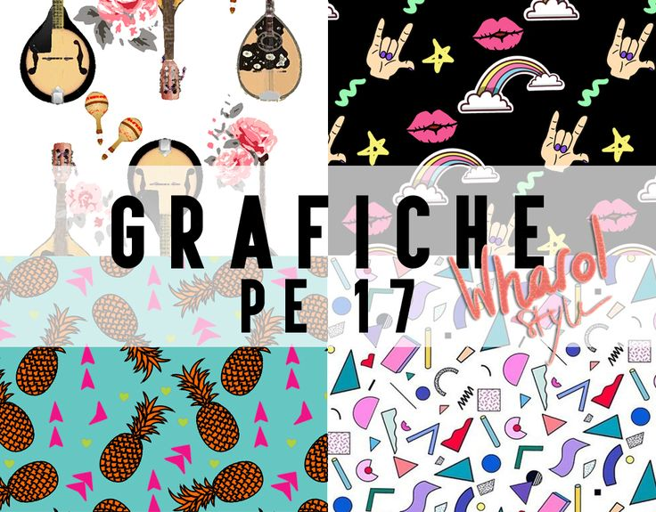 Grafiche P/E 17 disponibili su www.fashionforbreakfast.it