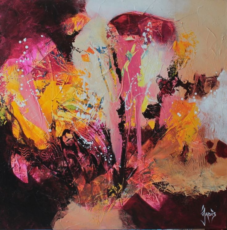 17 best images about jadis weonea artist on pinterest for Artiste art abstrait
