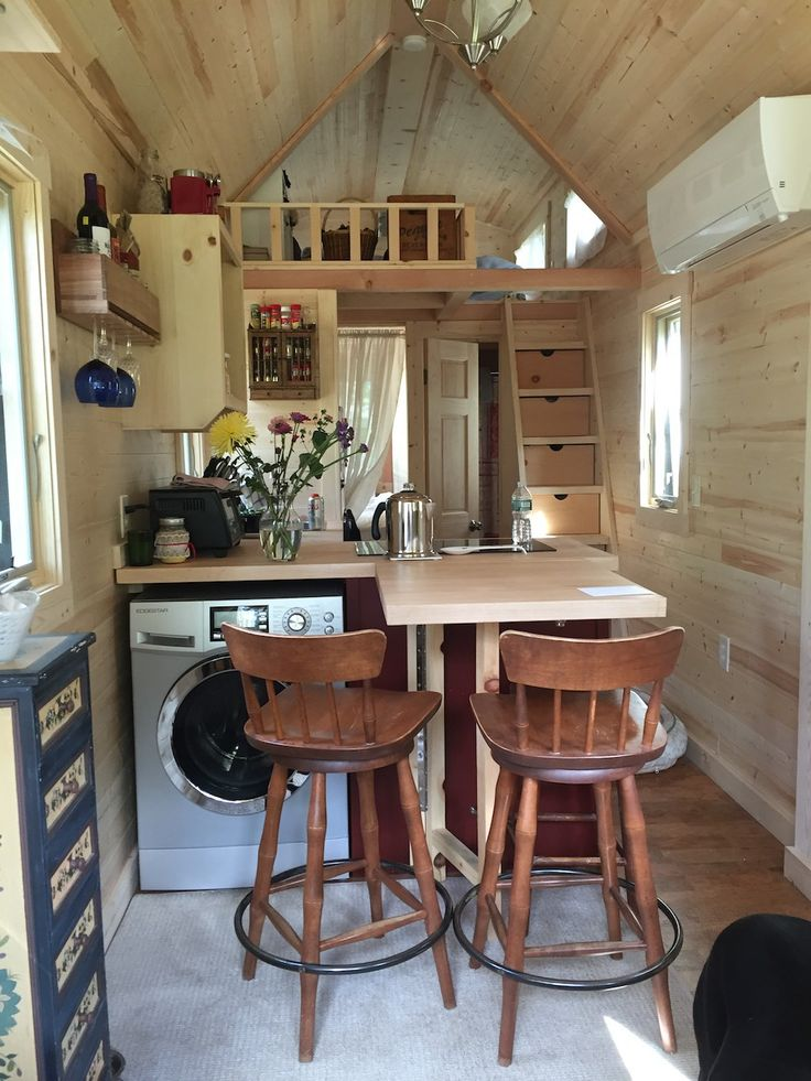 Tumbleweed Cypress Equator -- A 269 square feet tiny house on wheels in Appleton, Maine | pinned by haw-creek.com