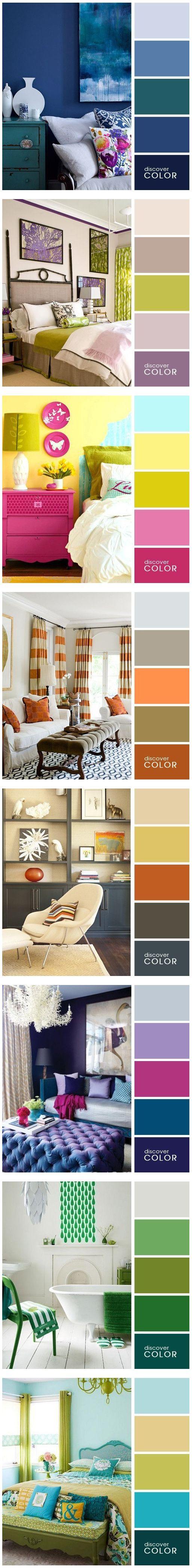 Interior home design and colour #Luxurydotcom