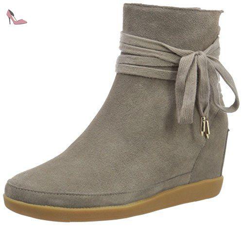 Shoe the Bear Hannah, Bottes Classiques Femme, Gris (Hannah_Gris), 36 EU