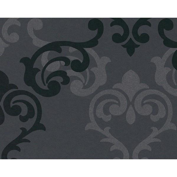 Imperial Trellis Black Silver for Theatre Room