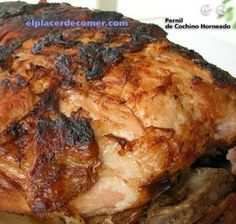 Recetas de cocina tipicas: Pernil de Puerco al Horno